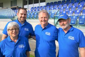 Der SC Cham geniesst das 24. Internationale Zugerland-Turnier