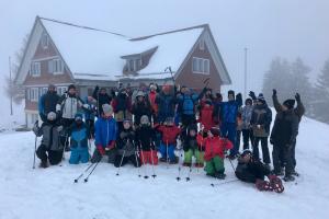 Weekend der Ca-Junioren im Schnee