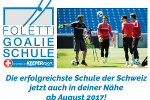 Foletti Goalieschule – Trainingsangebot nun auch in Cham