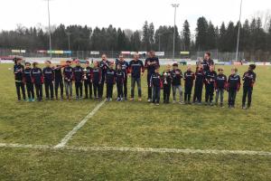 Grosser Applaus für die Junioren für den IFV-Hallenmeister Titel