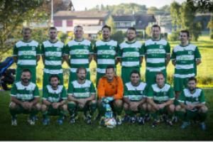 Im Kreise der Schweizer Fussballlegenden